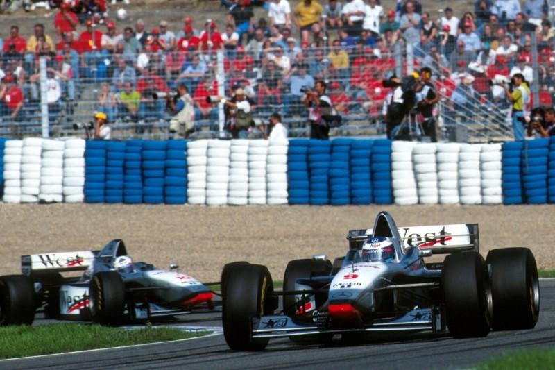 Mika Häkkinen, David Coulthard