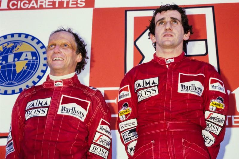 Alain Prost, Niki Lauda