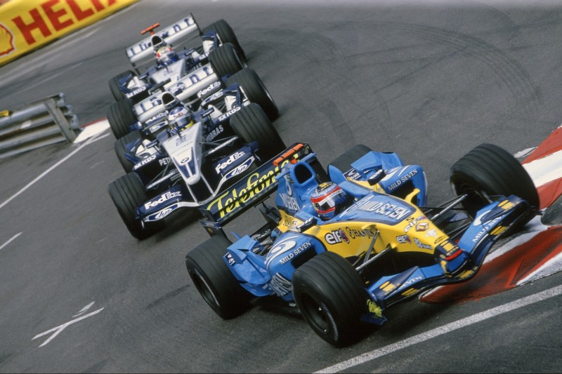 Fernando Alonso, Nick Heidfeld, Mark Webber
