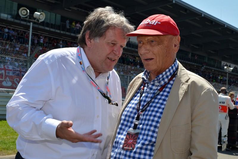 Norbert Haug, Niki Lauda