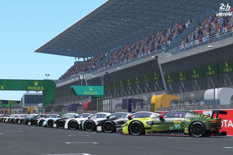 E-Sport: 24h Le Mans virtuell