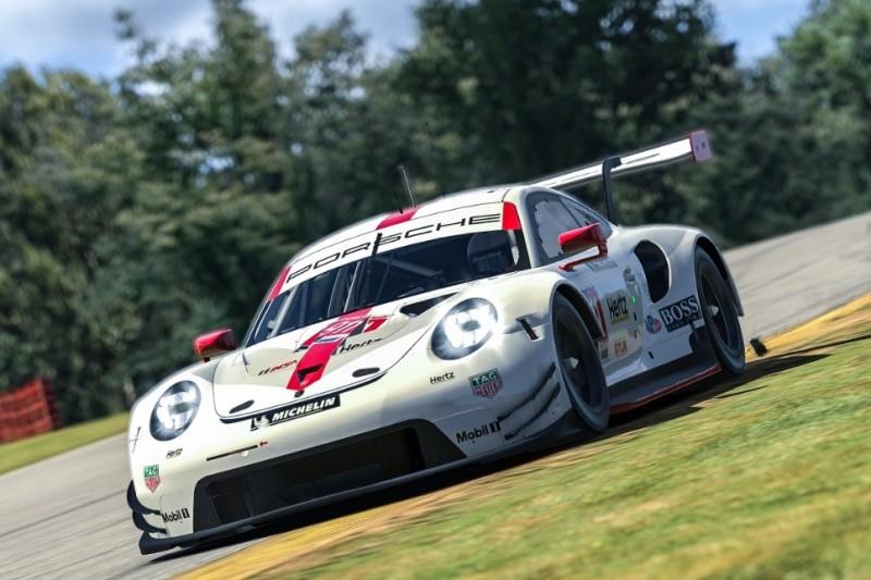 Porsche 911 RSR, Sim-Racing