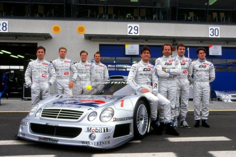 Mark Webber, Bernd Schneider, Klaus Ludwig, Ricardo Zonta, Marcel Tiemann, Teamfoto