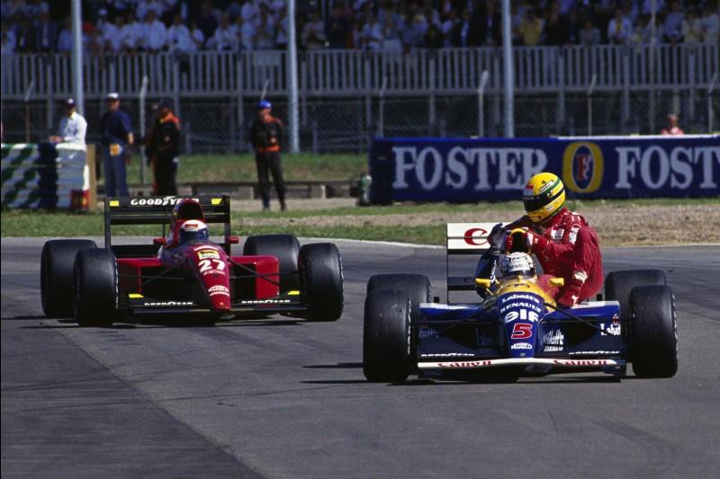 Alain Prost, Nigel Mansell, Ayrton Senna