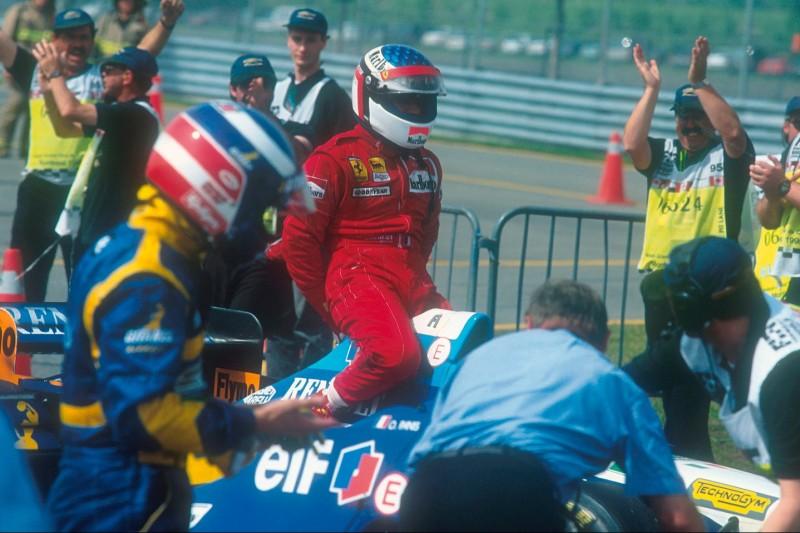 Jean Alesi, Michael Schumacher