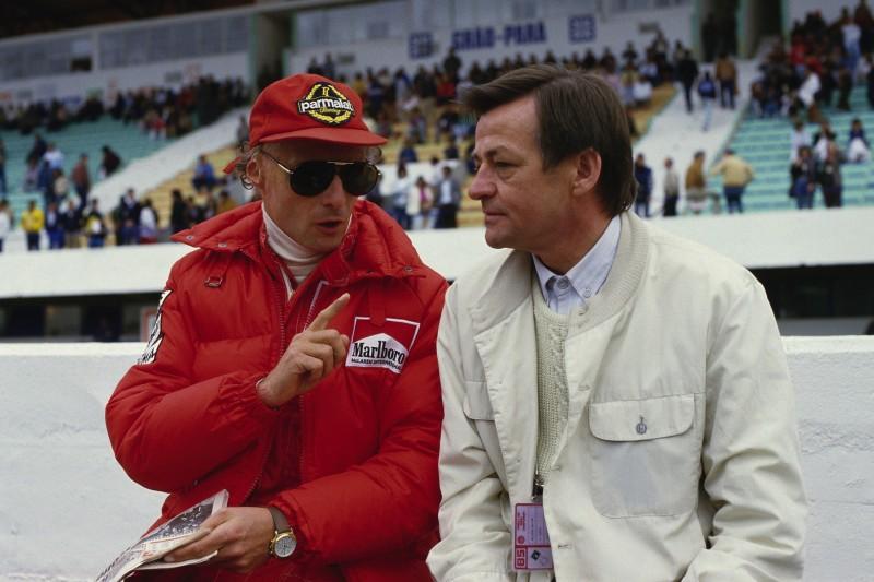 Niki Lauda, Hans Mezger