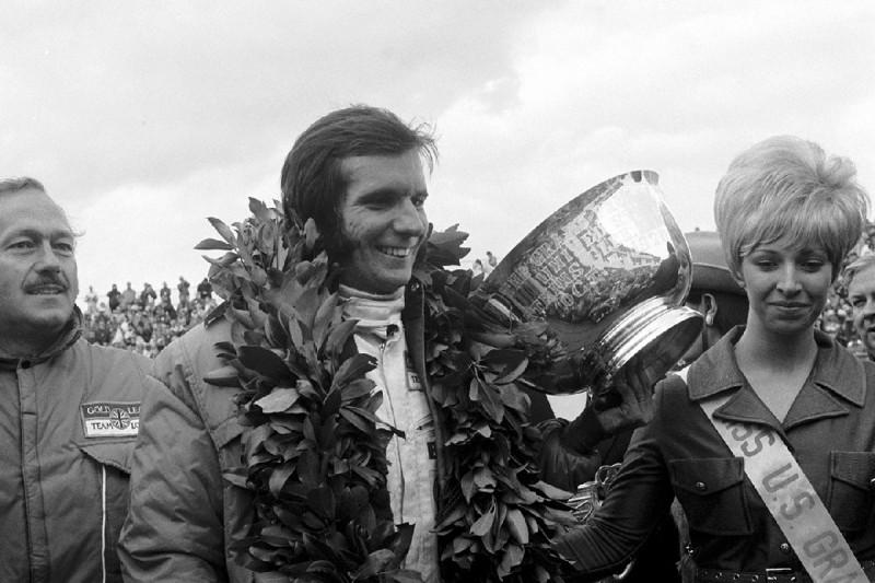 Watkins Glen 1970: Emerson Fittipaldi feiert seinen ersten Formel-1-Sieg
