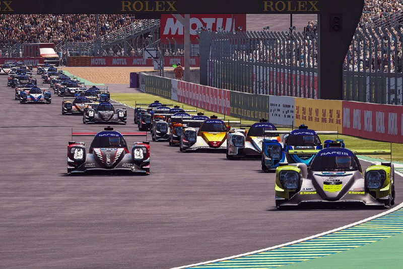 E-Sport: Start zu den 24h Le Mans virtuell