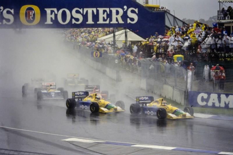 Michael Schumacher, Jean Alesi, Riccardo Patrese