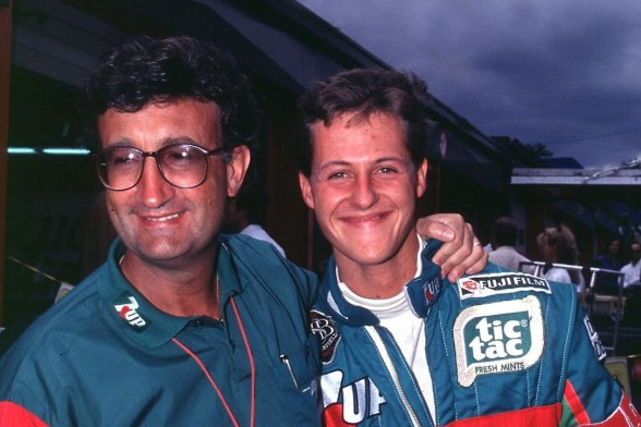 Eddie Jordan, Michael Schumacher