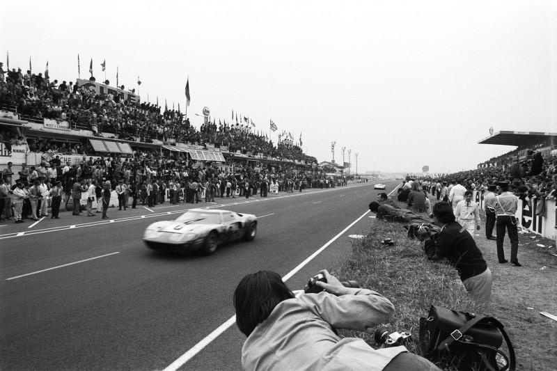 Le-Mans-Sieger 1969: Jacky Ickx, Jackie Oliver, Ford GT40