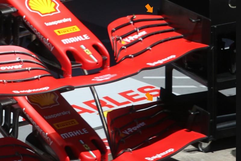 Frontflügel Ferrari