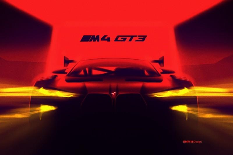 BMW M4 GT3, Teaser