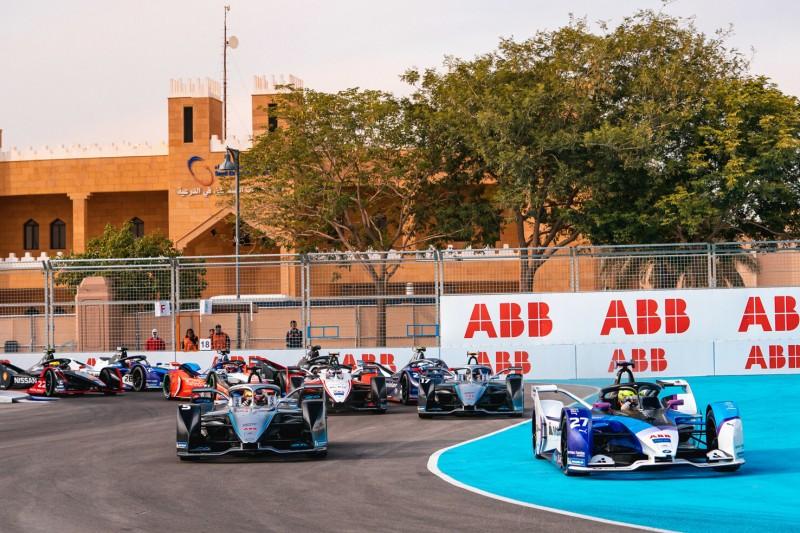 Start der Formel E 2019/20 in Riad