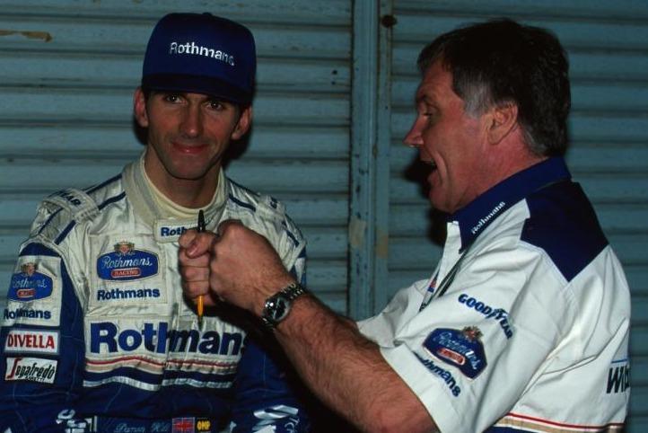 Damon Hill und Patrick Head