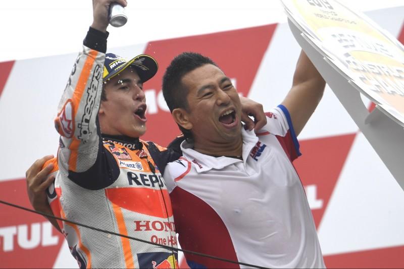 Marc Marquez, Takeo Yokoyama