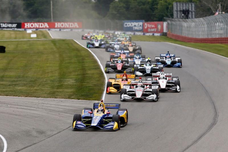 Start zum Honda Indy 200 auf dem Mid-Ohio Spots Car Course 2018