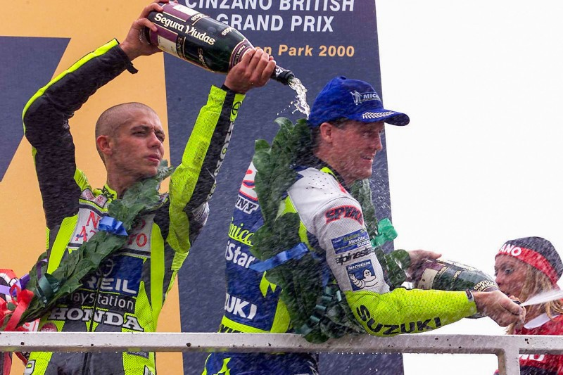 Valentino Rossi, Kenny Roberts jun.