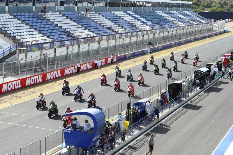 WSBK Start Jerez