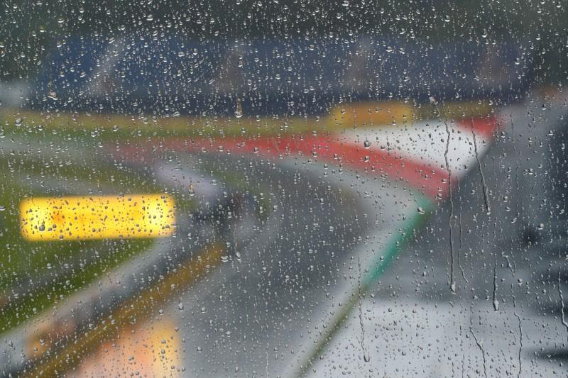Regen am Red-Bull-Ring in Spielberg