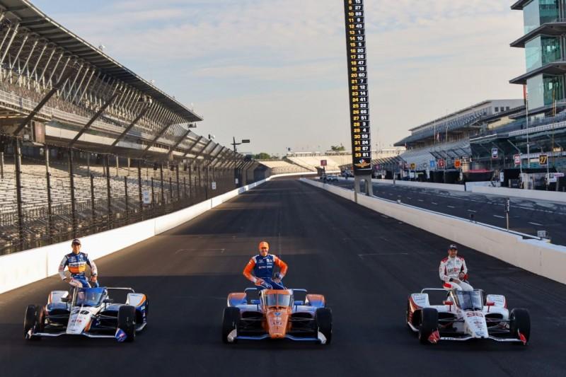 Marco Andretti, Scott Dixon, Takuma Sato