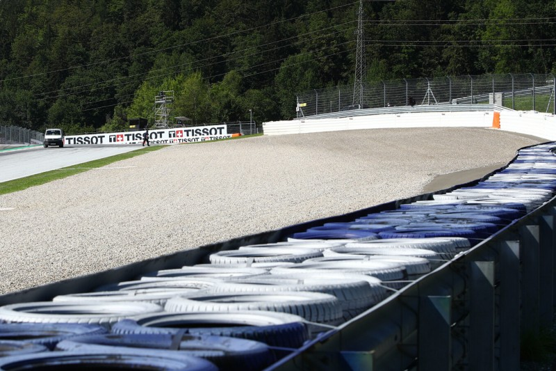 Kurve 3 am Red-Bull-Ring in Spielberg
