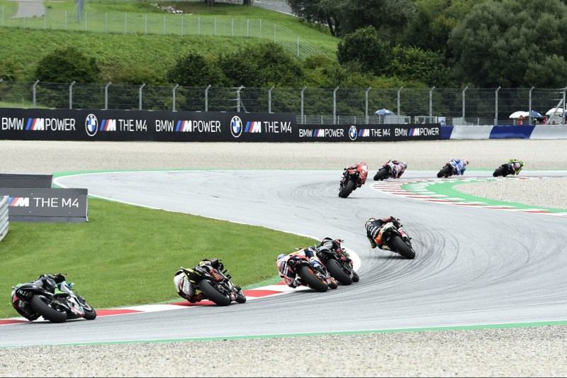 Renn-Action beim GP Steiermark 2020 in Spielberg