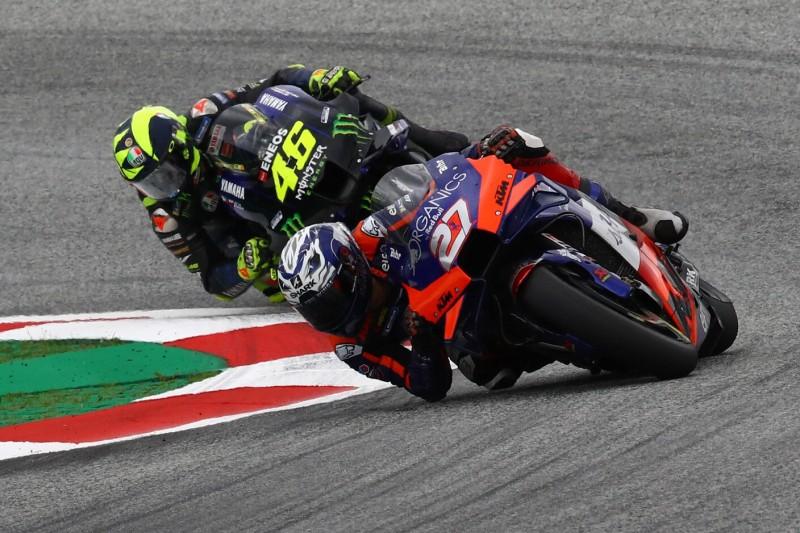Iker Lecuona, Valentino Rossi