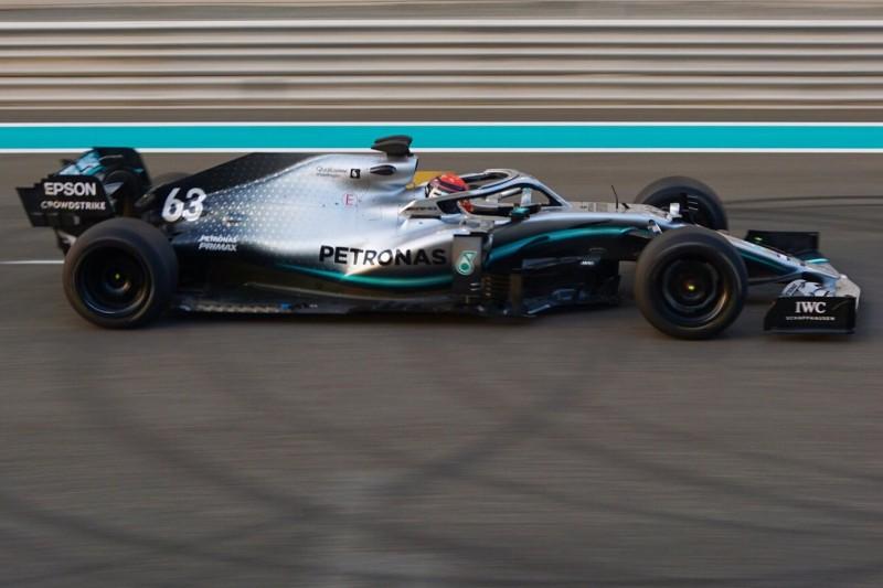 George Russell testet 18-Zoll-Felgen von Pirelli für 2021