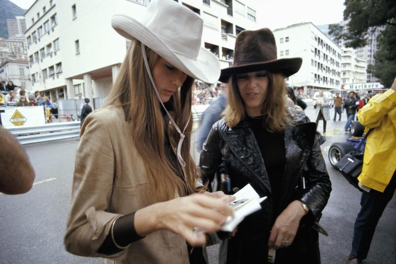 Nina Rindt und Helen Stewart