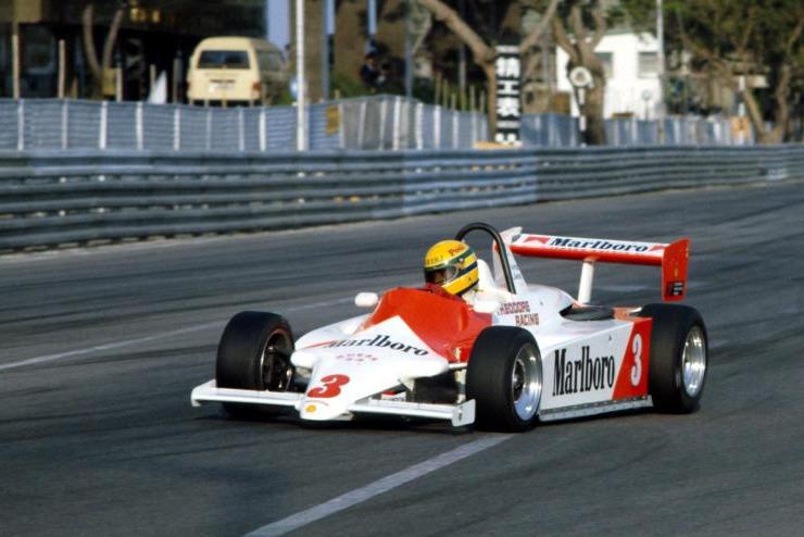 Ayrton Senna beim Formel-3-Grand-Prix von Macau 1983