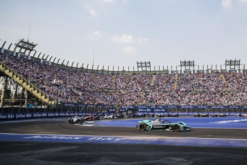 Formel E in Mexiko-Stadt