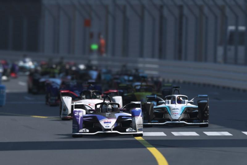 E-Sport Race at Home Challenge der Formel E