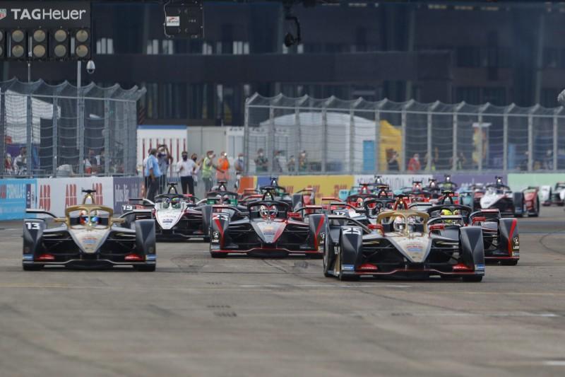 Start der Formel E 2019/20 in Berlin-Tempelhof