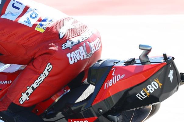 Andrea Dovizioso, undaunted