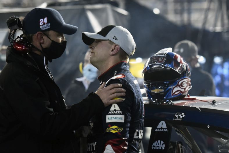 William Byron, Chad Knaus