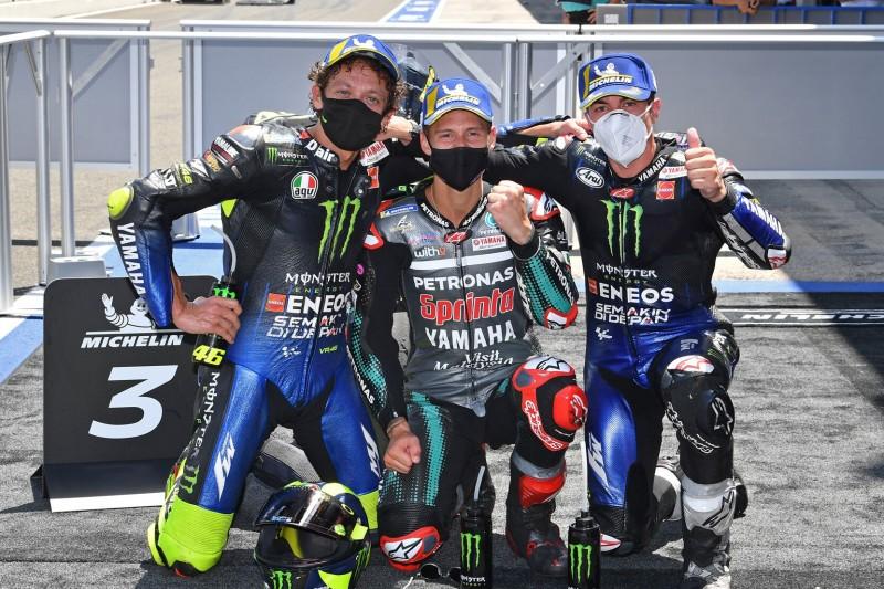 Fabio Quartararo, Maverick Vinales, Valentino Rossi