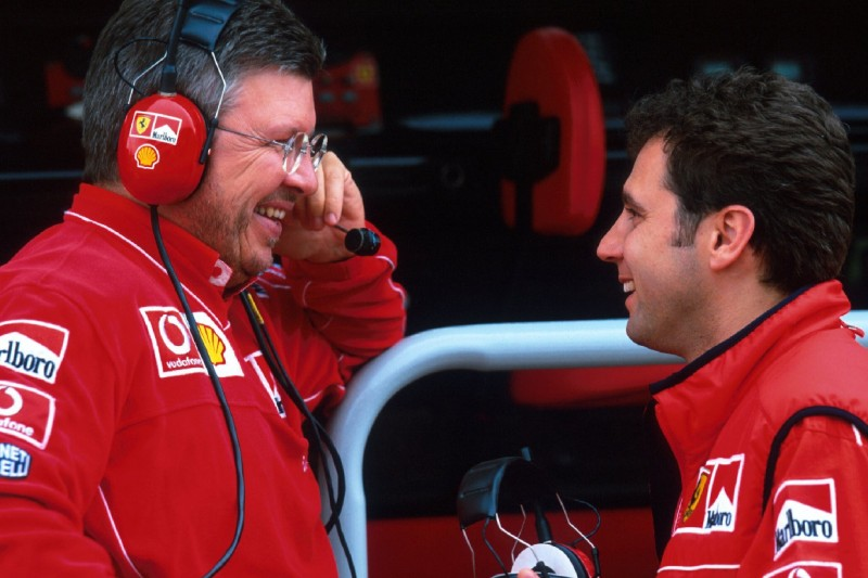 Ross Brawn, Stefano Domenicali