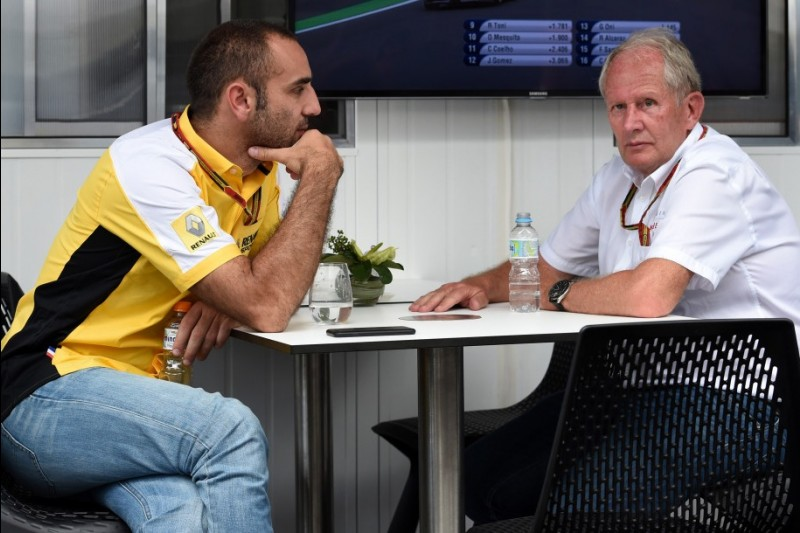 Cyril Abiteboul, Helmut Marko