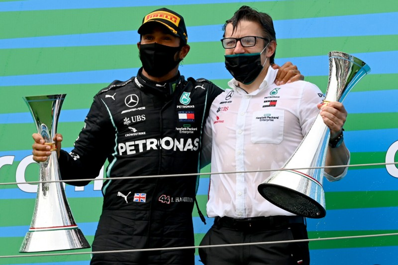 Lewis Hamilton und Peter Bonnington
