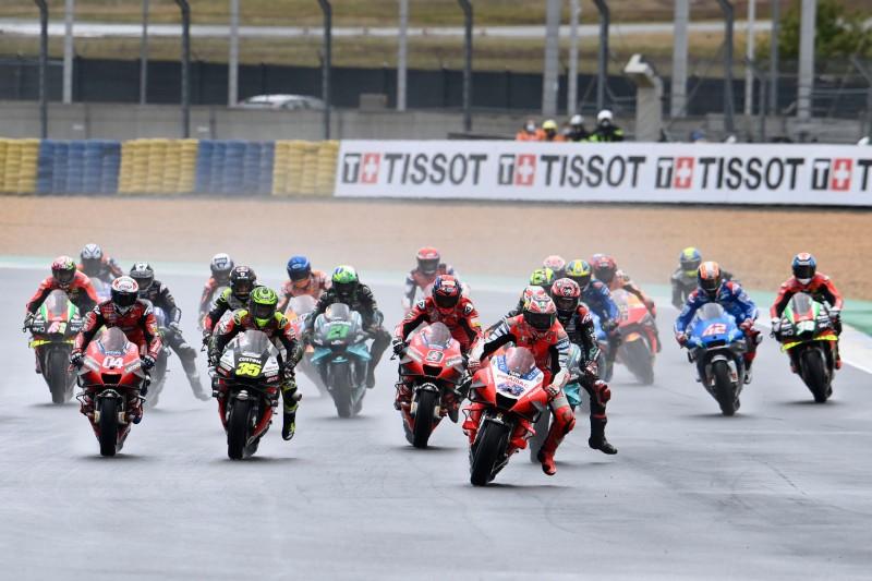 Start zum GP Frankreich 2020 in Le Mans: Jack Miller führt