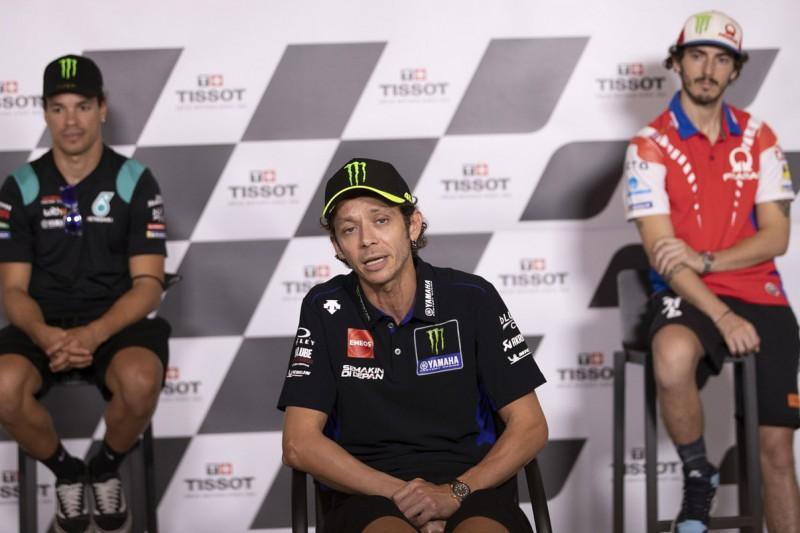 Franco Morbidelli, Valentino Rossi, Francesco Bagnaia