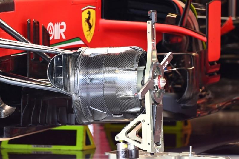 Ferrari-Bremse