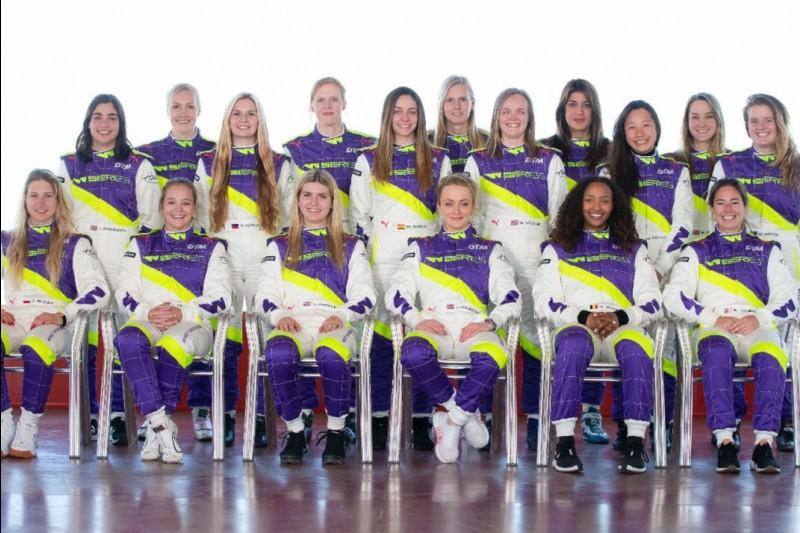 Die 18 Pilotinnen der W-Series 2019