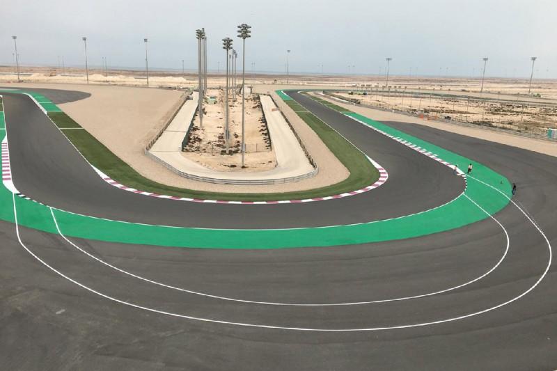 Long Lap: Penalty-Spur am Losail International Circuit in Katar