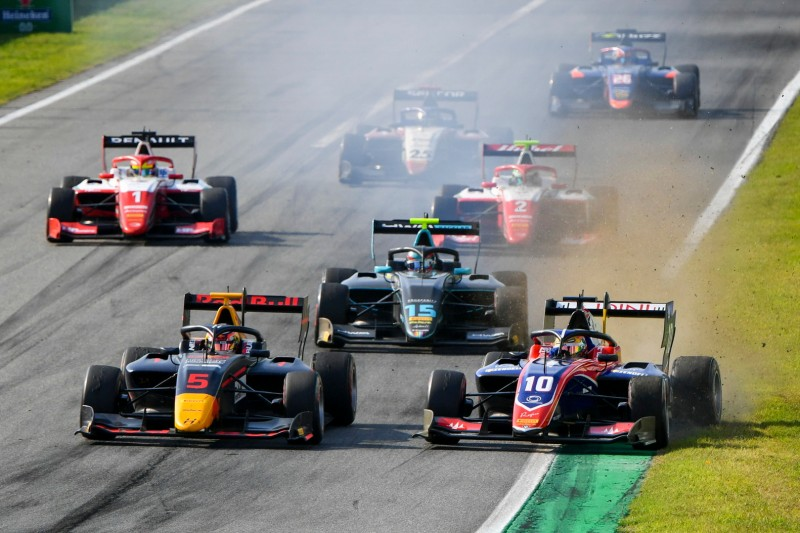Formel-3-Action in Monza