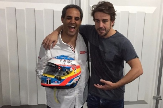 Juan Pablo Montoya, Fernando Alonso