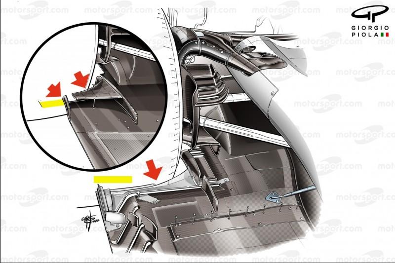Haas VF-20, Unterboden, 2021