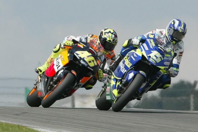 Sete Gibernau, Valentino Rossi