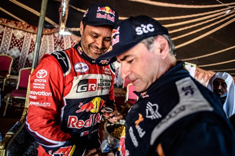 Nasser Al-Attiyah, Carlos Sainz